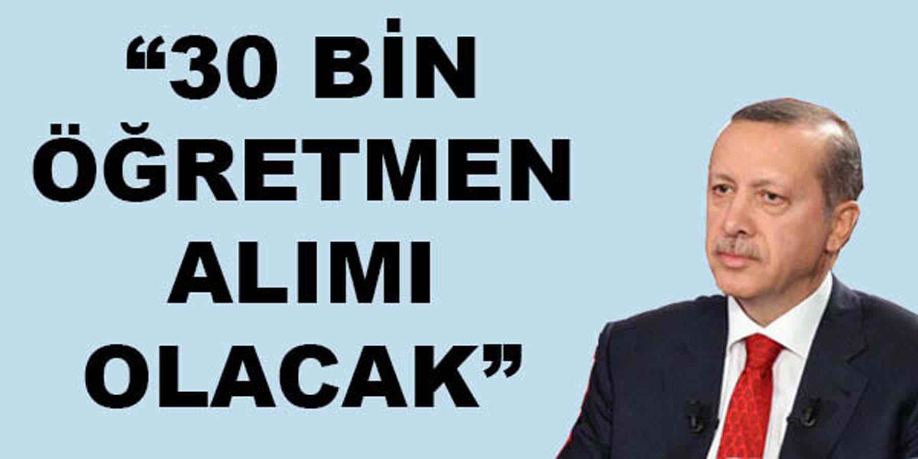 Cumhurbaşkanı Erdoğan Öğretmenlere Müjdeyi Verdi