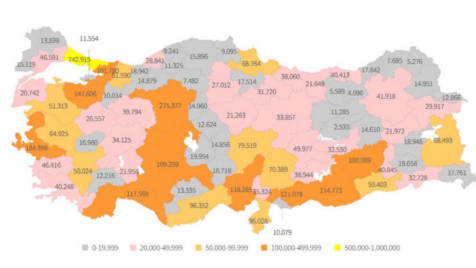 Türkiye Geneli Mesleki Eğitim Haritası Çıkarıldı