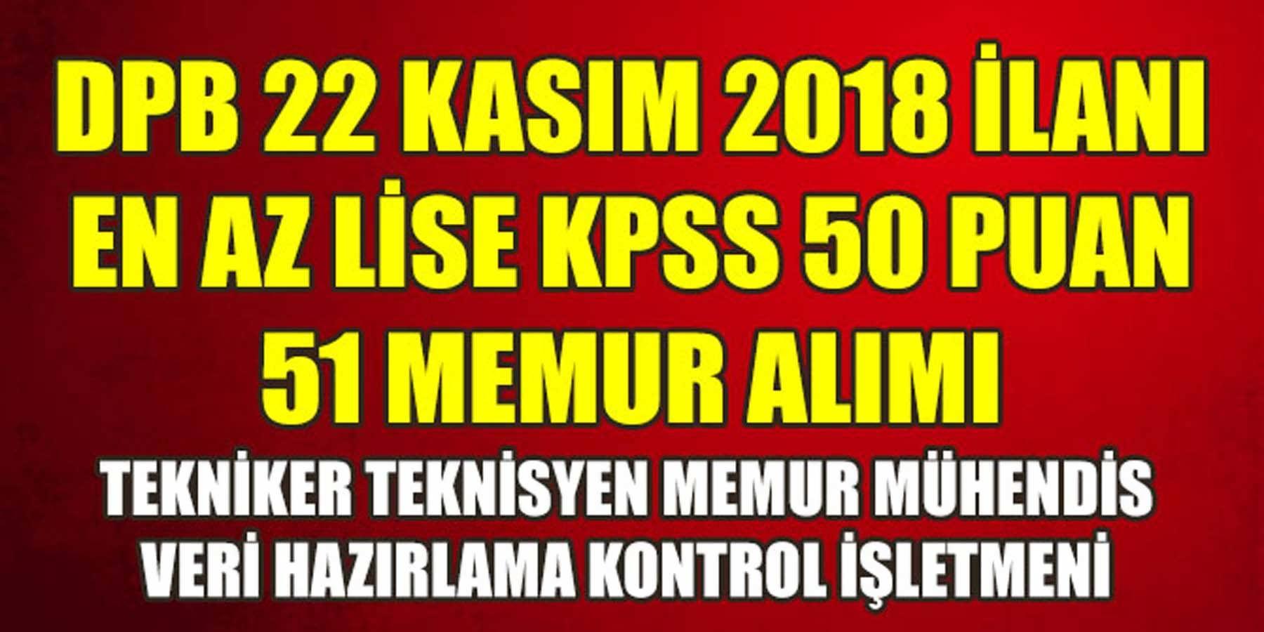 KPSS 50 Puanla 51 Memur Alımı Yapılıyor (TİSKİ)