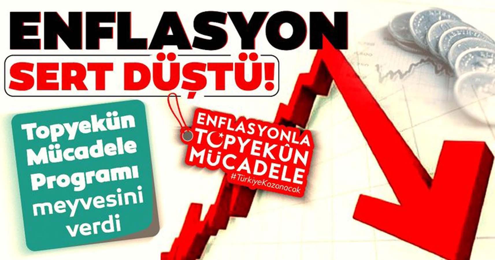 Kasım Ayında Enflasyon Düştü