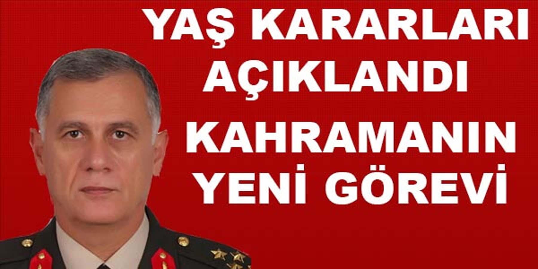 İşte Türkiye'nin Yeni Komutanları