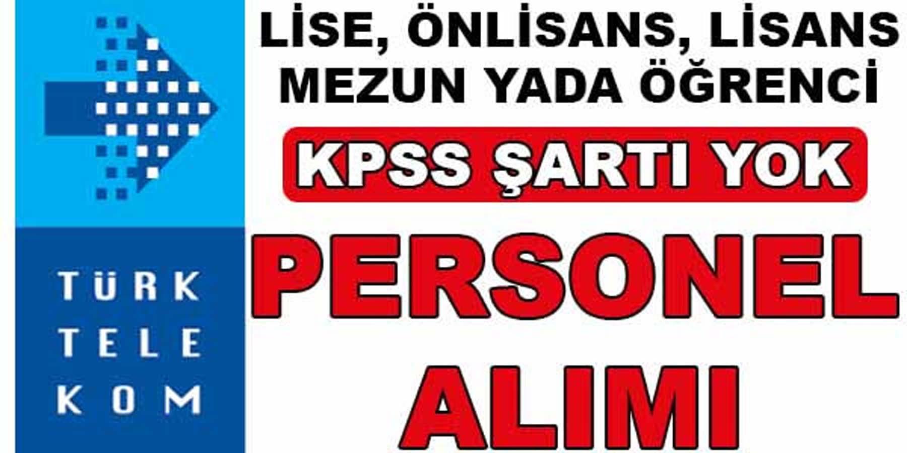 Türk Telekom Eleman Alımı Kasım 2016