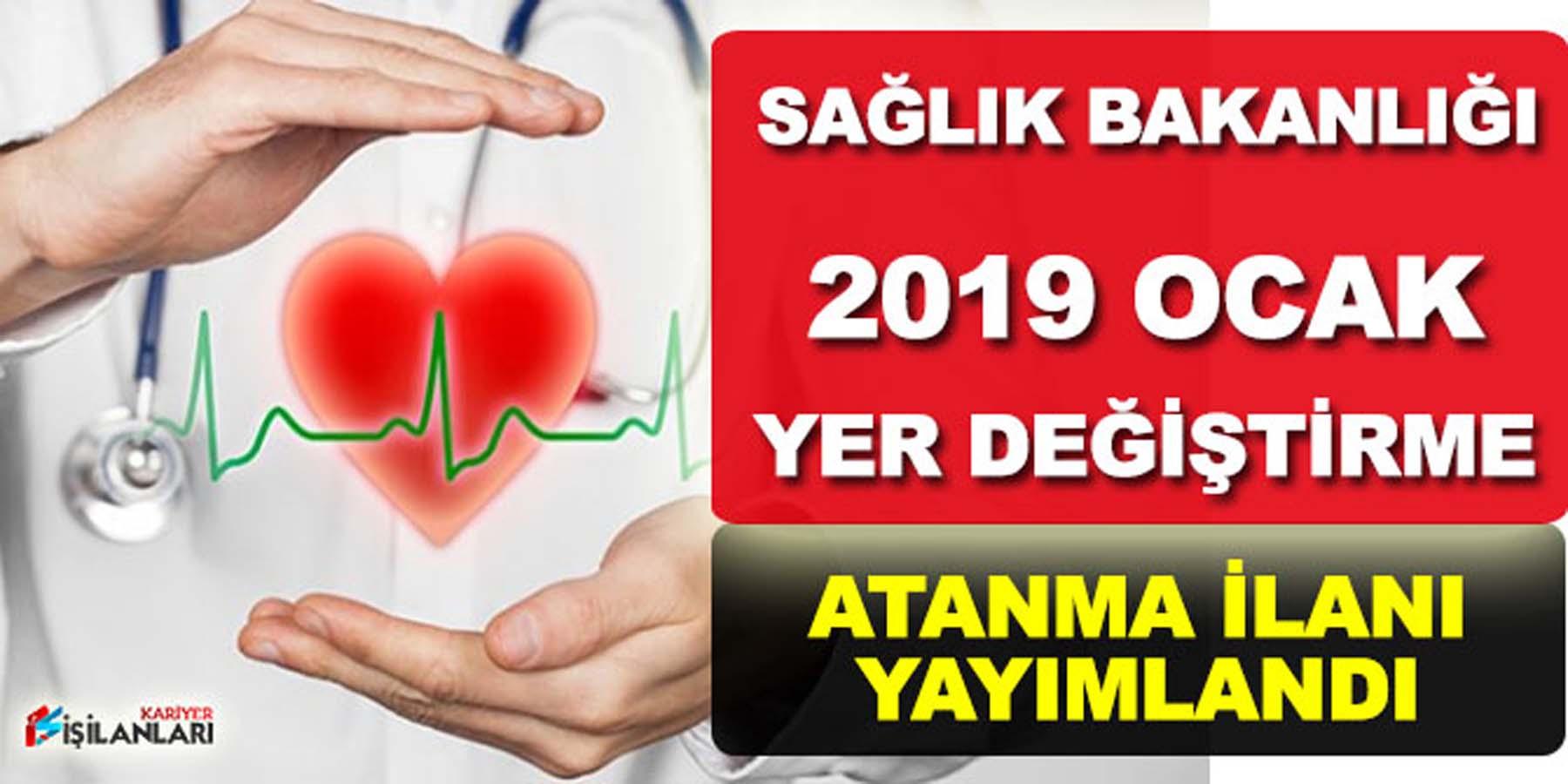 2019 Yılı Ocak Sağlık Bakanlığı Atama Yayımlandı
