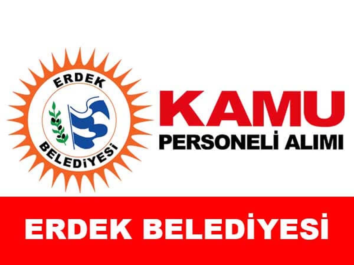 Erdek Belediye Başkanlığı Personel Alımı
