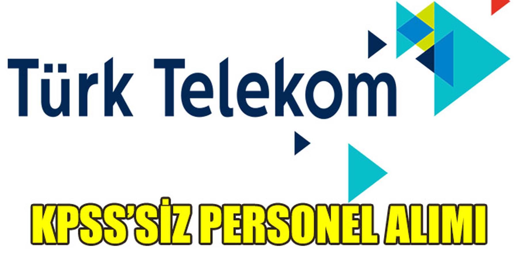 İŞKUR Türk Telekom'a KPSS'siz Kamu Personeli Alımı Yapıyor