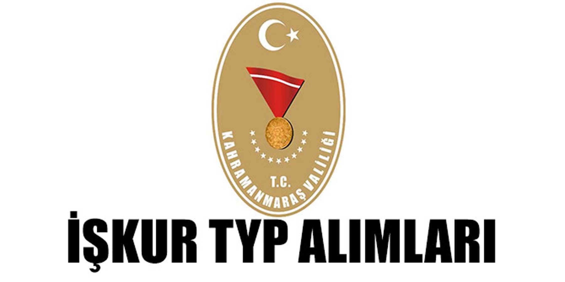 Kahramanmaraş TYP İŞKUR 900 Kamu Personel Alımı