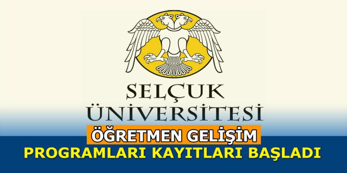 Selçuk Üniversitesi Öğretmen Gelişim Programları Başlattı