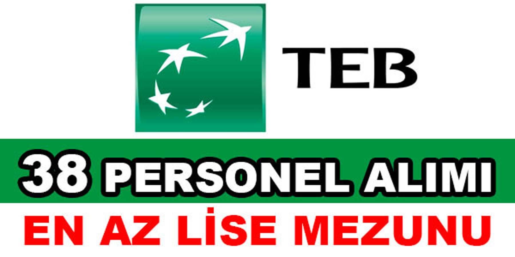 Türk Ekonomi Bankası Ağustos 2016 Personel Alımı