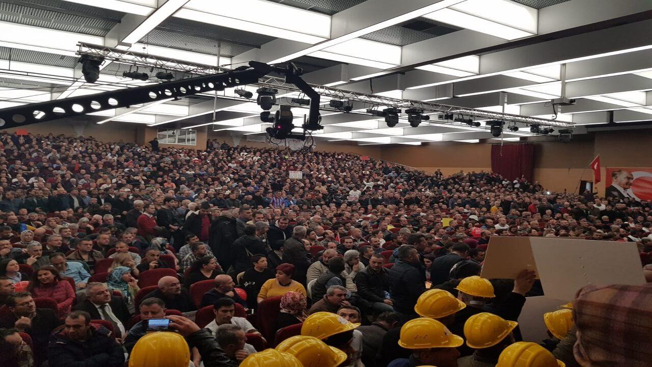 EYT'liler Ankara'ya Akın Etti