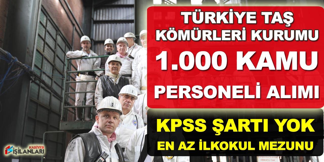 TTK 1.000 İşçi Alımı İŞKUR'da Yayımlanarak Alım Başladı