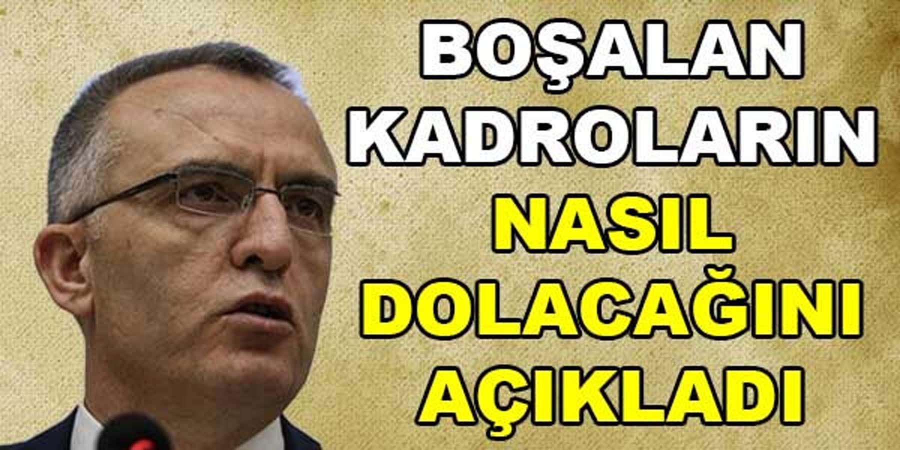 Ağbal, Kamuya Ne Kadar Personel Alınacağını Açıkladı