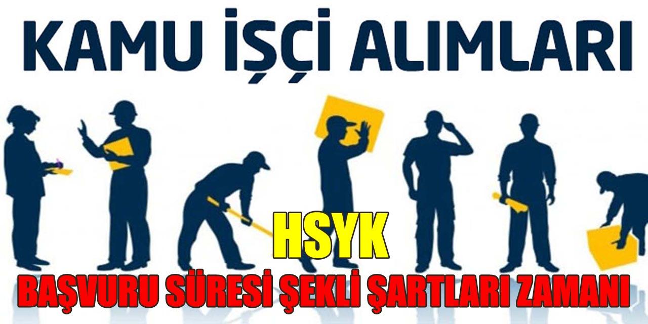 Kamu Personeli Alımı HSYK Başvuru Süresi Şekli Zamanı ve Maaşları