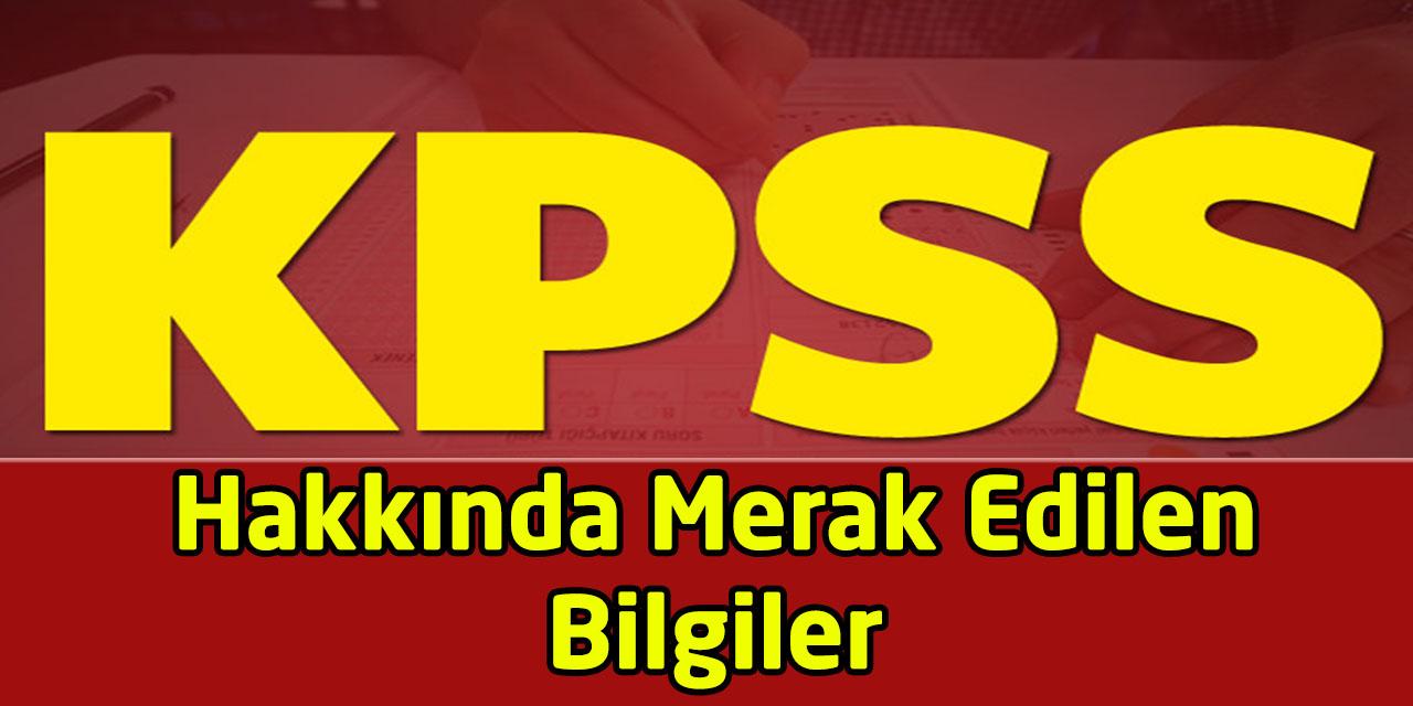 KPSS Hakkında Merak Edilen Bilgiler