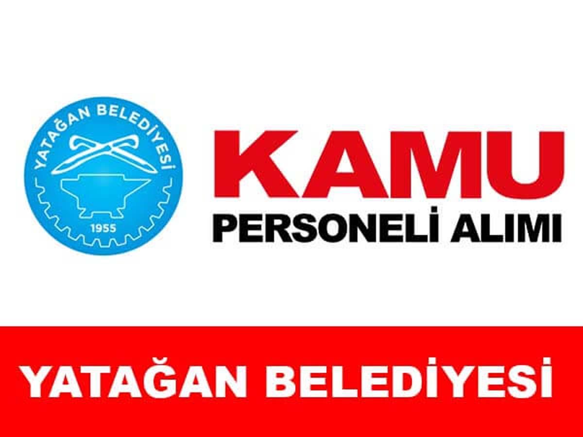 Yatağan Belediye Başkanlığı Engelli Personel Alımı