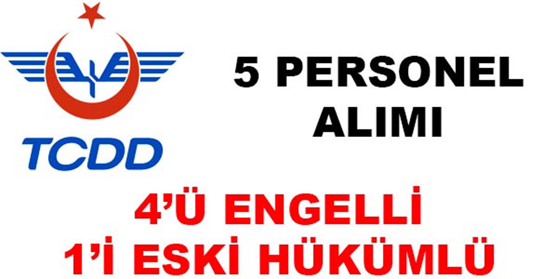Devlet Demiryolları 5 Personel Alımı