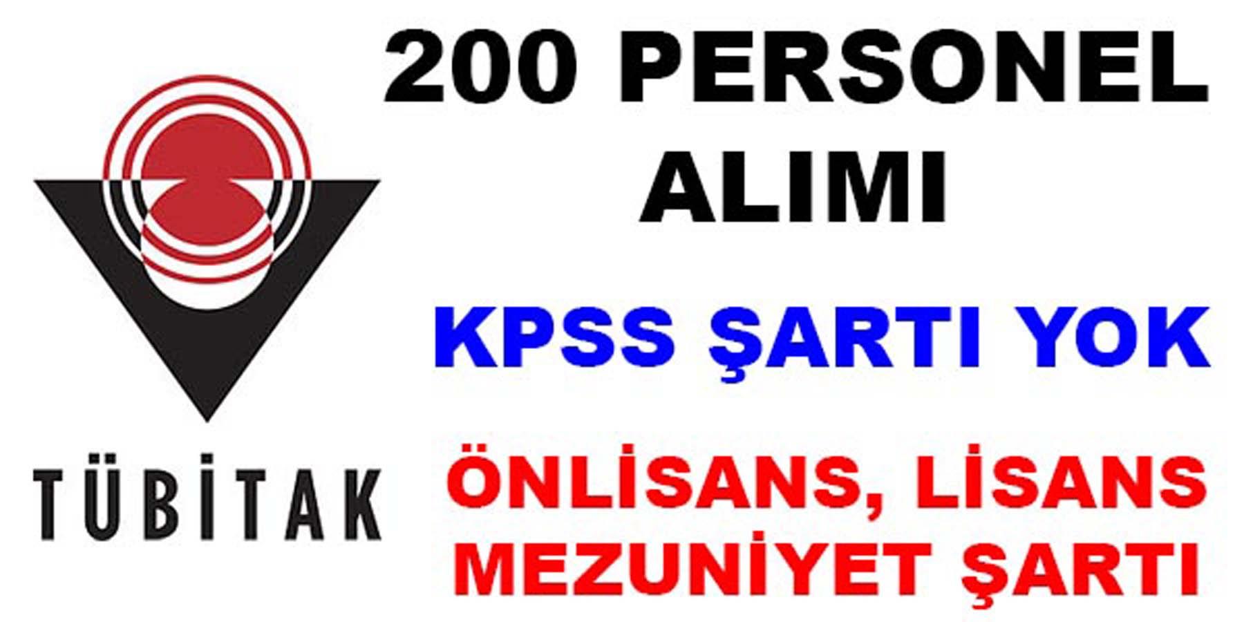 TÜBİTAK BİLGEM 200 Personel Alımı