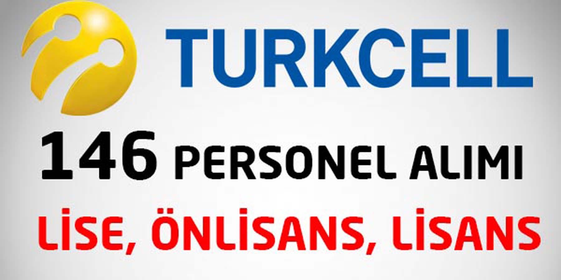 Turkcell Ağustos 2016 Personel Alımı