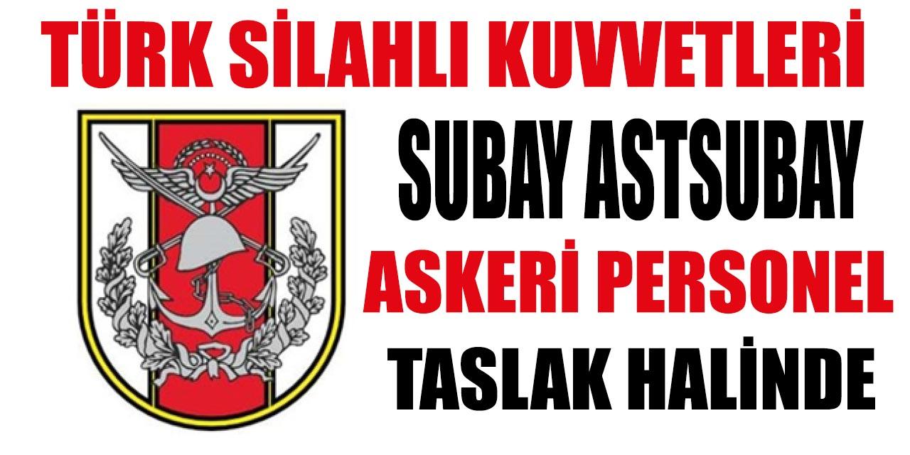 Türk Silahlı Kuvvetleri Askeri Personel Subay Alacak
