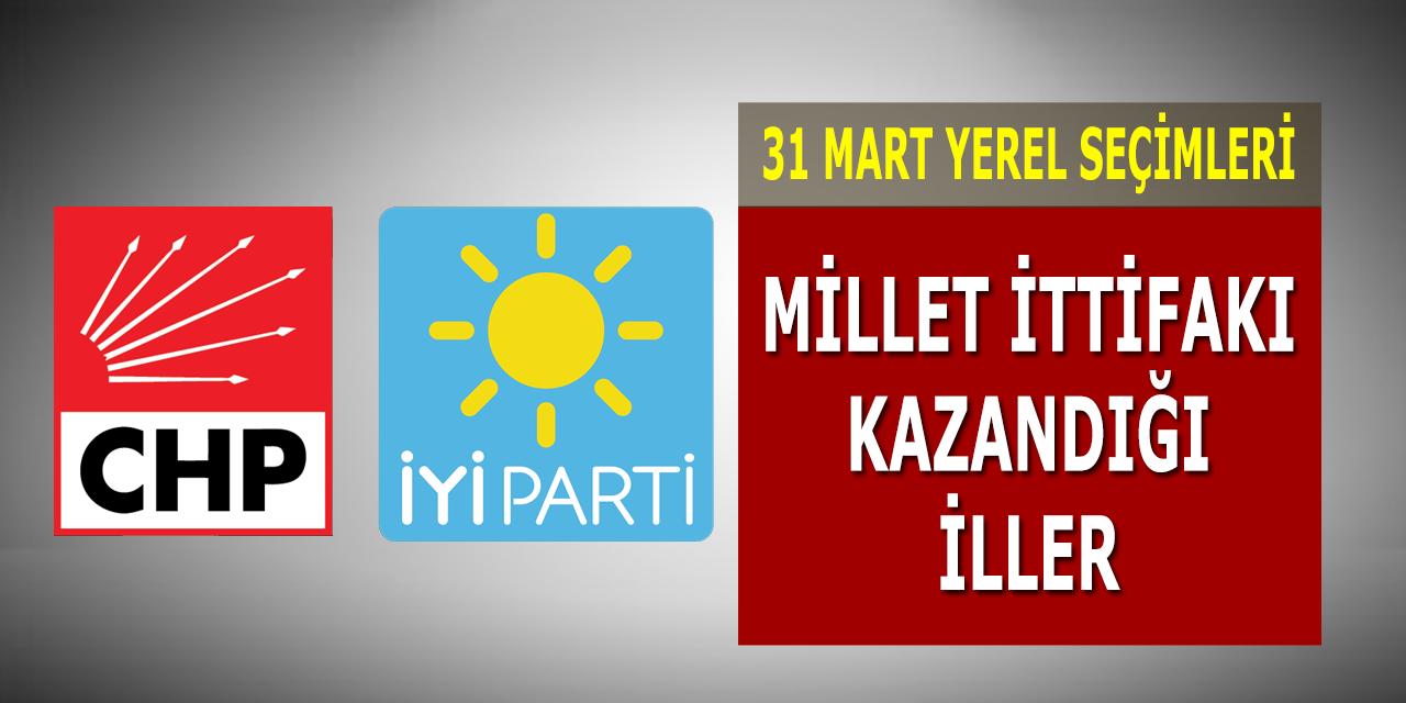 CHP İyi Parti Millet İttifakı Türkiye Genel Yerel Seçim Sonuçları