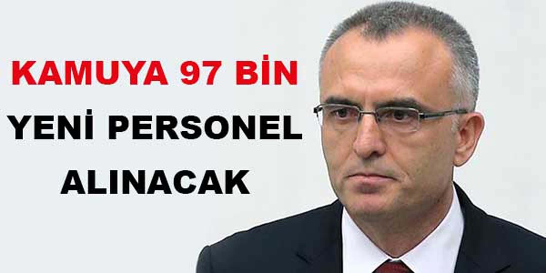 Bakan Açıkladı 97 Bin Kamu Personeli Alınacak