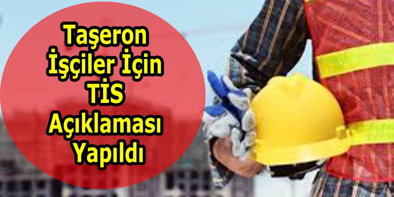 Taşeron İşçiler İçin TİS Açıklaması Yapıldı