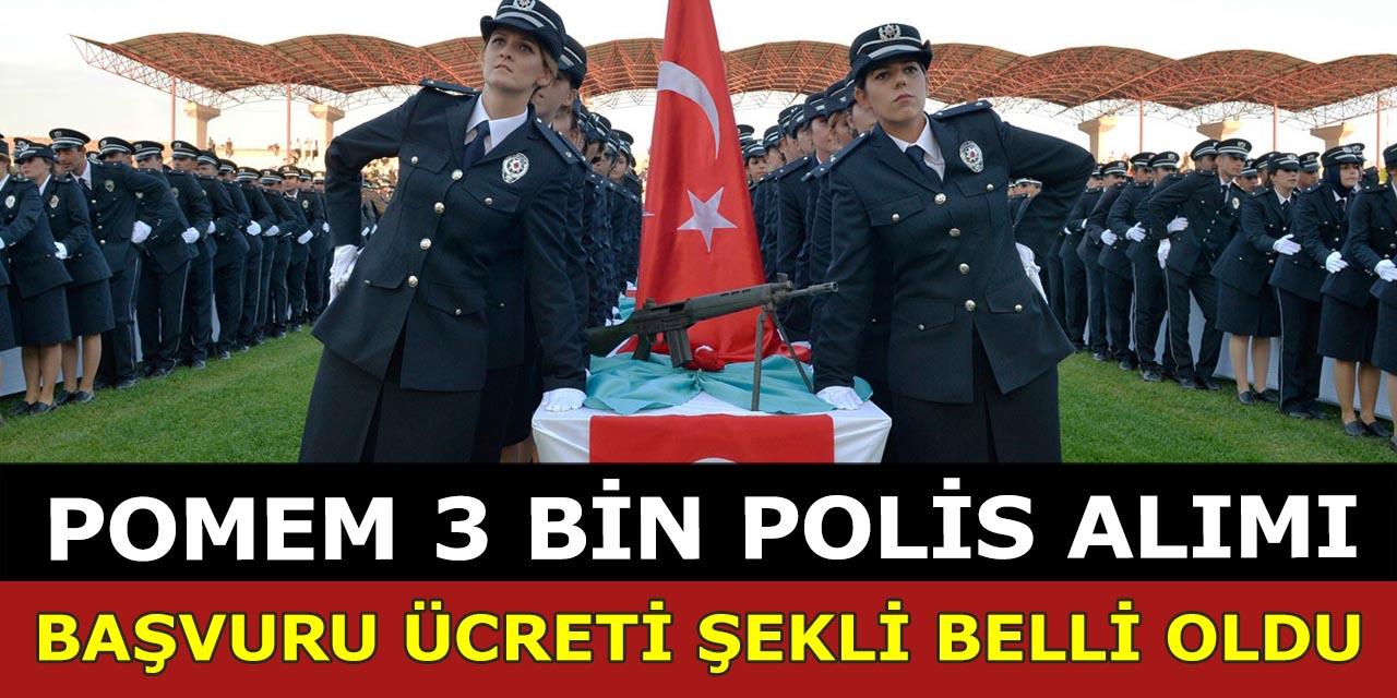 3 Bin Kadın Polis Alımı Başvuruları Başladı – Başvuru Ücreti ve Şekli Belli Oldu