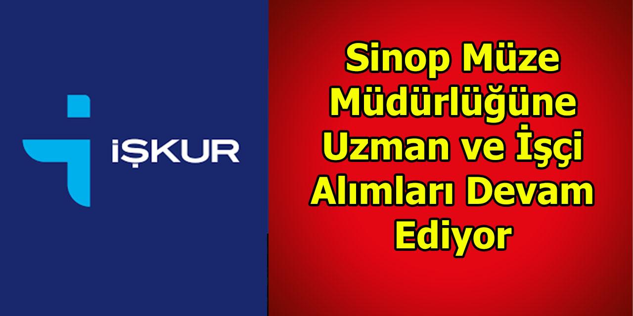 Sinop Müze Müdürlüğüne Uzman ve İşçi Alımları Devam Ediyor