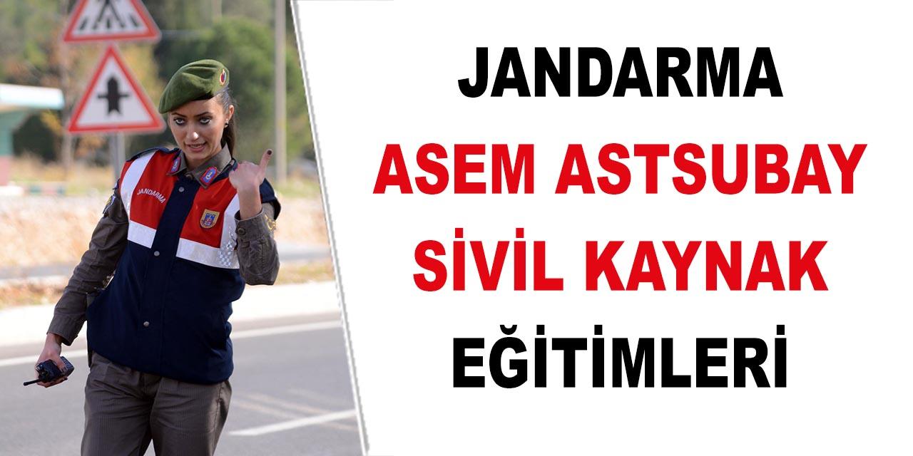 ASEM Jandarma ve Sahil Güvenlik Akademisi Astsubay Eğitimi! Sivil Kaynak